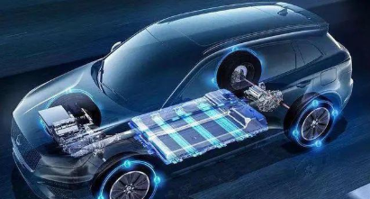 电动汽车透明图